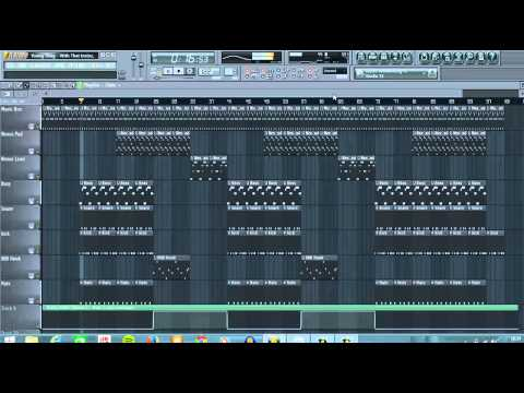 Young Thug  - With That Instrumental Remake (Fl Studio Tutorial)