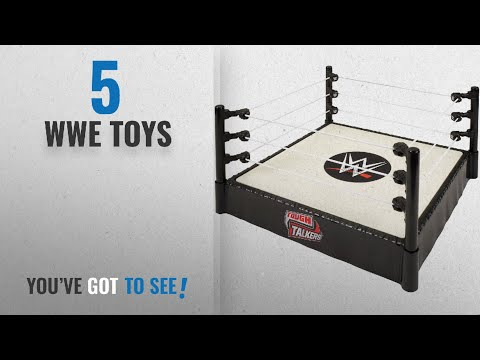 Top 10 Wwe Toys [2018]: WWE DXH00 Tough Talkers Interactive Ring