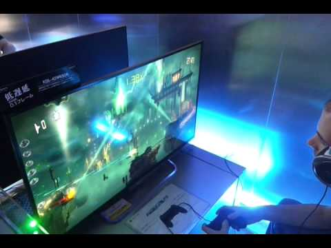resogun ps4 gameplay 1080p tv