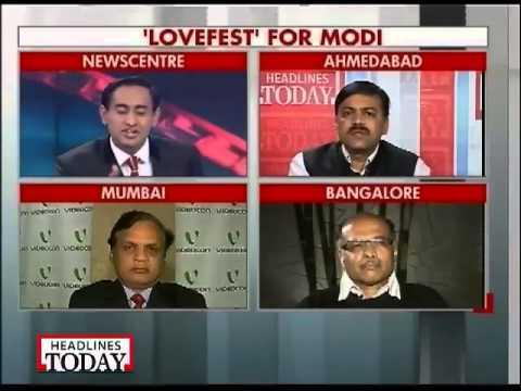 Narendra Modi gets heaps of praises at Vibrant Gujarat Summit