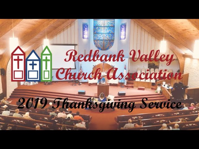2019 Community Thanksgiving Service | Redbank Valley Church Association