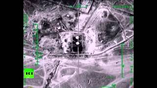 Combat cam: Russian warplanes target ISIS oil facilities in Syria
