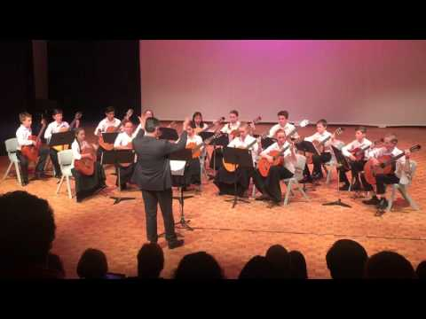 Zendra - John Curtin College of the Arts - guitar ensemble - July 2015