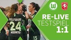 RE-LIVE | Testspiel der VfL Wolfsburg Frauen gegen Twente Enschede