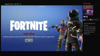 Fortnite is not working since last night