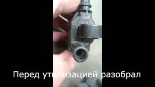 Проверка катушки зажигания. Check the ignition coil