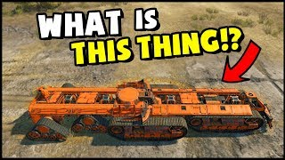 Crossout - MASSIVE LAND BATTLESHIP! This Thing Is Awesome (Crossout Gameplay)