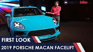 2019 Macan Facelift First Look | NDTV carandbike