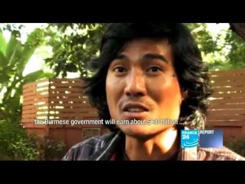 Oil - The secret pipeline: how Burmese junta is making €1bn a year