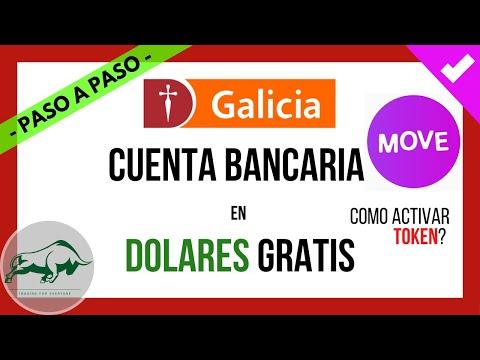 🎯 GALICIA MOVE | CUENTA BANCARIA en DOLARES 💵 GRATIS Paso a Paso | Como Activar TOKEN Digital ❓