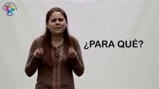 LENGUA DE SEÑAS - INTERROGATIVOS