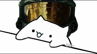 Bongo Cat: Halo Theme