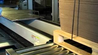 골판지 포장(래핑) 자동화 동영상:코팩시스템 골판지 후…