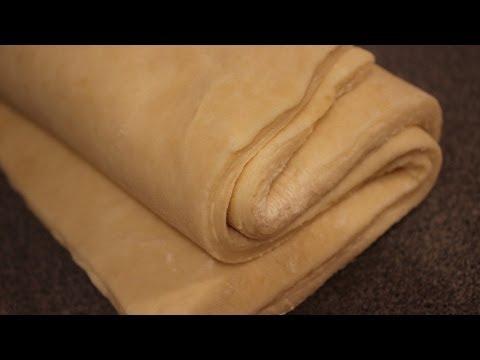 Слоеное тесто быстрого приготовления видео рецепт