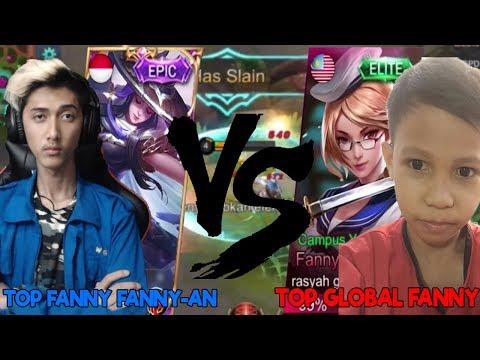 GUE VS TOP GLOBAL Fanny! BOCAH SD BAYANGKAN-_-V - Mobile Legend Indonesia
