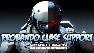 Ghost Recon Phantoms | Probando clase Support | Multijugador
