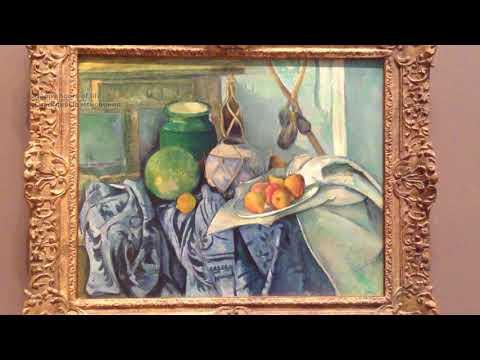 Поль Сезанн, Имбирь, кувшин и баклажаны.  Paul Cezanne, Still Life with the Jinger Jar and Eggplants