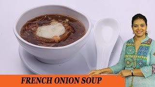 French Onion Soup - Mrs Vahchef