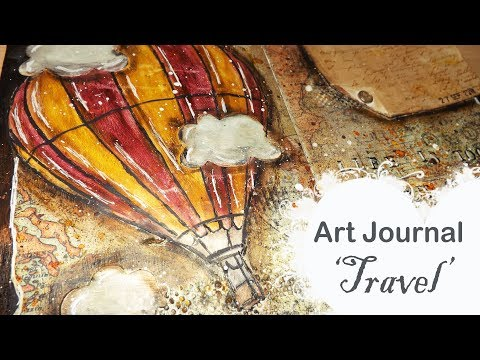 My Art Journal: Travel    La Casita de Gominolas