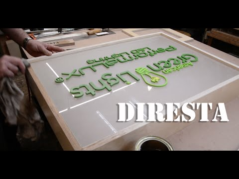 ✔ DiResta American Green Light Sign