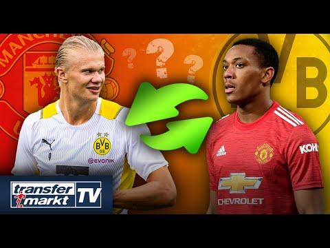 Download Manchester United hofft weiterhin auf Haaland-Transfer – Martial als Tausch zum BVB? | TRANSFERMARKT