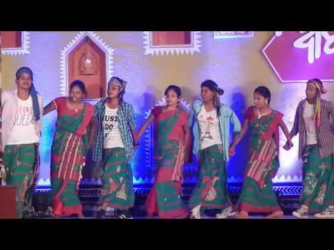 New Santali Dance by IG HOSTEL {Dinge dabung dabung do & Kuri masem hara ena (Jhak Jhak)} 2017