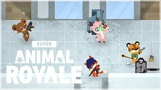 『Super Animal Royale 動物大吃雞』四排!大亂鬥!