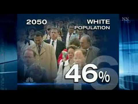 White Americans No Longer A Majority By 2042