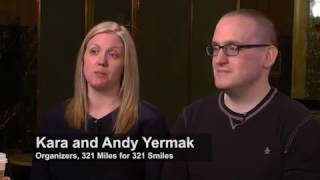 Kara and Andy Yermak (321 Miles for 321 Smiles)