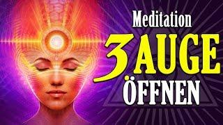 Meditation: Drittes Auge öffnen (Stirn Chakra aktivieren)