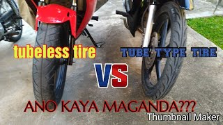 Tubeless Or Tube Type (with interior) Tire