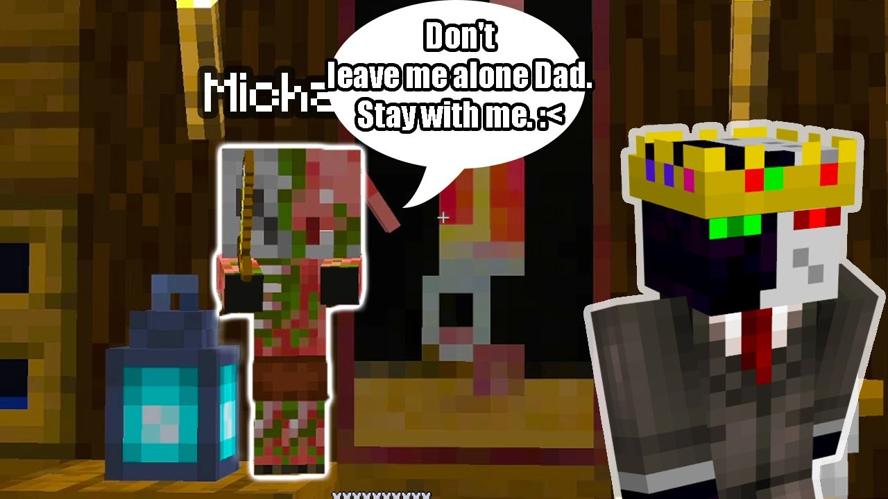 Download Michael WANTS his Dad Ranboo to stay with him. (WHOLESOME MOMENTS) - Dream SMP