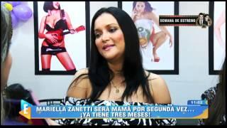 Mariella Zanetti da detalles de su segundo embarazo