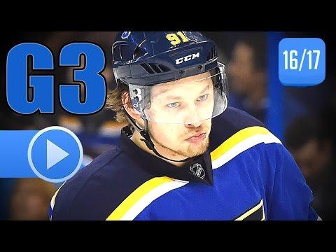 St. Louis Blues vs Minnesota Wild. 2017 NHL Playoffs. Round 1. Game 3. April 16th, 2017. (HD)