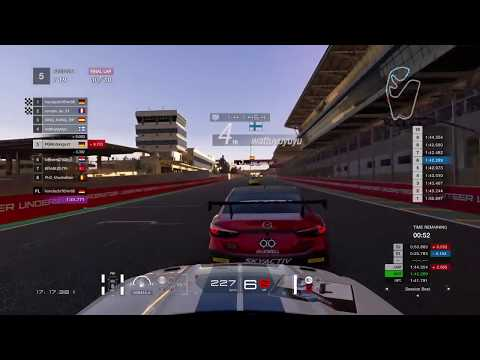 Gran Turismo™SPORT FIA GT Manufacturer Series Test Race 16 Sao Paulo Ford Mustang GT4 Onboard