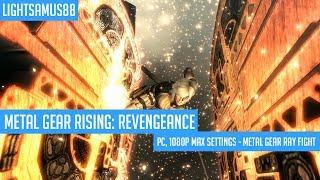 Metal Gear Rising Revengeance - PC, 1080p Max Settings - Metal Gear Ray Fight