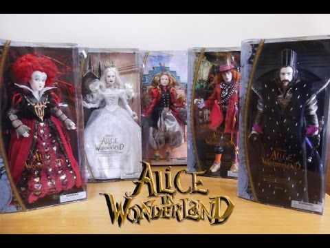 Alice Through The Looking Glass (Alice in Wonderland) - Disney Store TOP 5 ITA