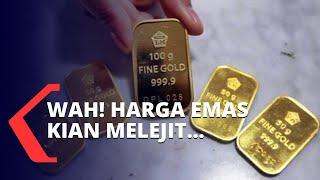 Kian Melejit, Harga Emas Antam Sentuh Rekor Rp 919.000 Per Gram!