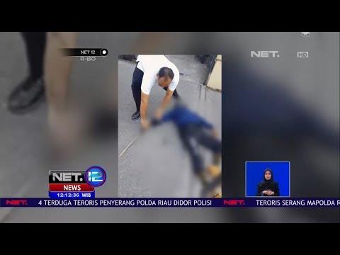 Detik-detik Teroris Serang Markas Polda Riau, 1 Polisi Tewas  - NET12