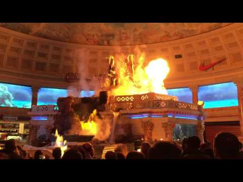 Fall of Atlantis at Caesars - Forum Shops ( Las Vegas Attractions )