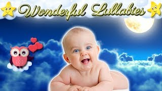 Brahms Lullaby ♥♥♥ Relaxing Baby Sleep Music ♫♫♫ Super Soft Bedtime Lullaby For Kids