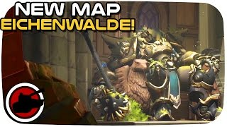 Overwatch ► NEW MAP, EICHENWALDE! - Overwatch Eichenwalde Preview