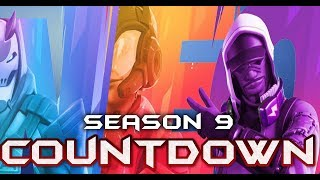 FORTNITE - SEASON 9 COUNTDOWN AND START TIME - PLAYING WITH SUBSCRIBERS - CODE: 1001