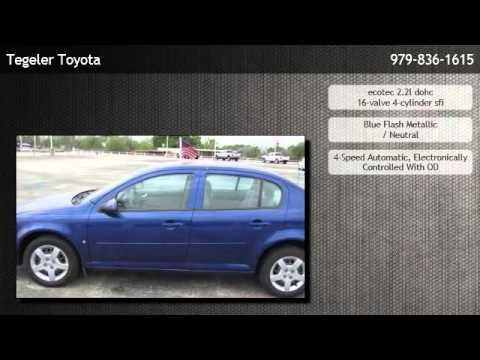 2007 Chevrolet Cobalt Sedan Lt Burton Youtube