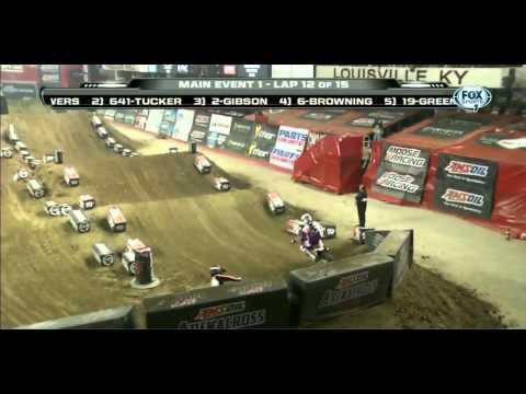2014 AMA Arenacross R3 Louisville HD