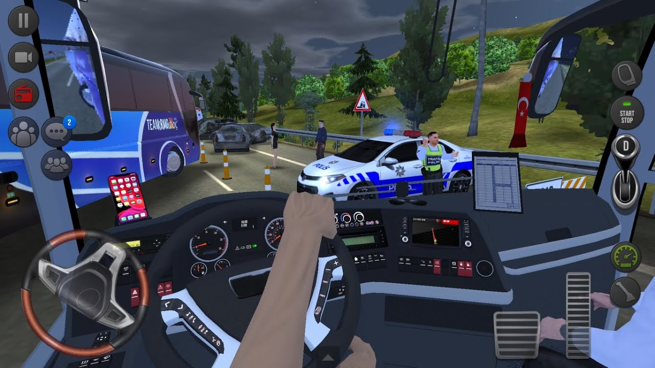 Scary Highway Accident 🚍👮♂️ Bus Simulator : Ultimate Multiplayer! Bus Wheels Games Android