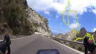 Complete descent Sa Calobra (Majorca), best footage ever in 4K(UHD) !!!