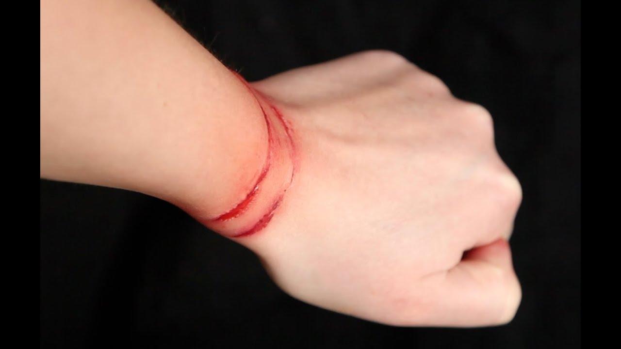 Watch marks on wrist - Ligature Marks Sfx Makeup Tutorial