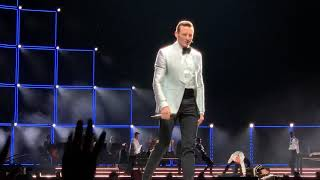 Hugh Jackman opening songs at Houston Concert