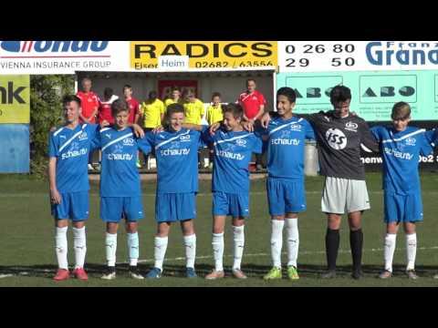 Burgenland : Salzburg - 0:4 (0:1) Bundesländer NW Meisterschaft U14  5. Runde